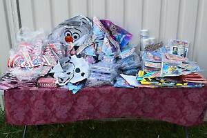 Party supplies Stock for Sale over 650 items Frozen Minions Ebay Kurri Kurri Cessnock Area Preview