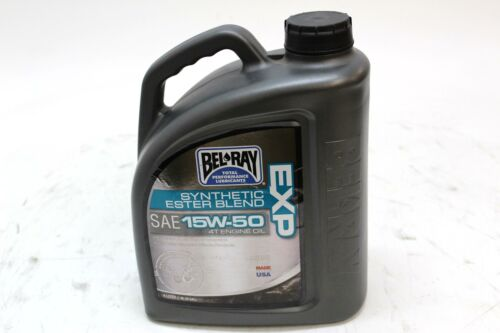 BEL-RAY EXP SYNTHETIC ESTER BLEND 4T ENGINE OIL 15W-50 4L, 1G