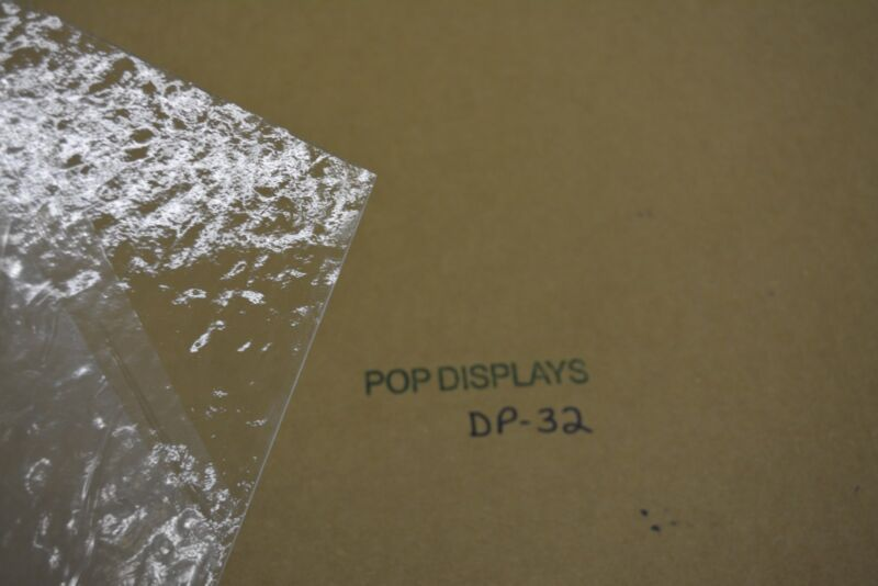 "PLEXIGLASS SHEET  COLOR #DP-32 TEXTURED CLEAR   1/8"" x 12"" X 12"""