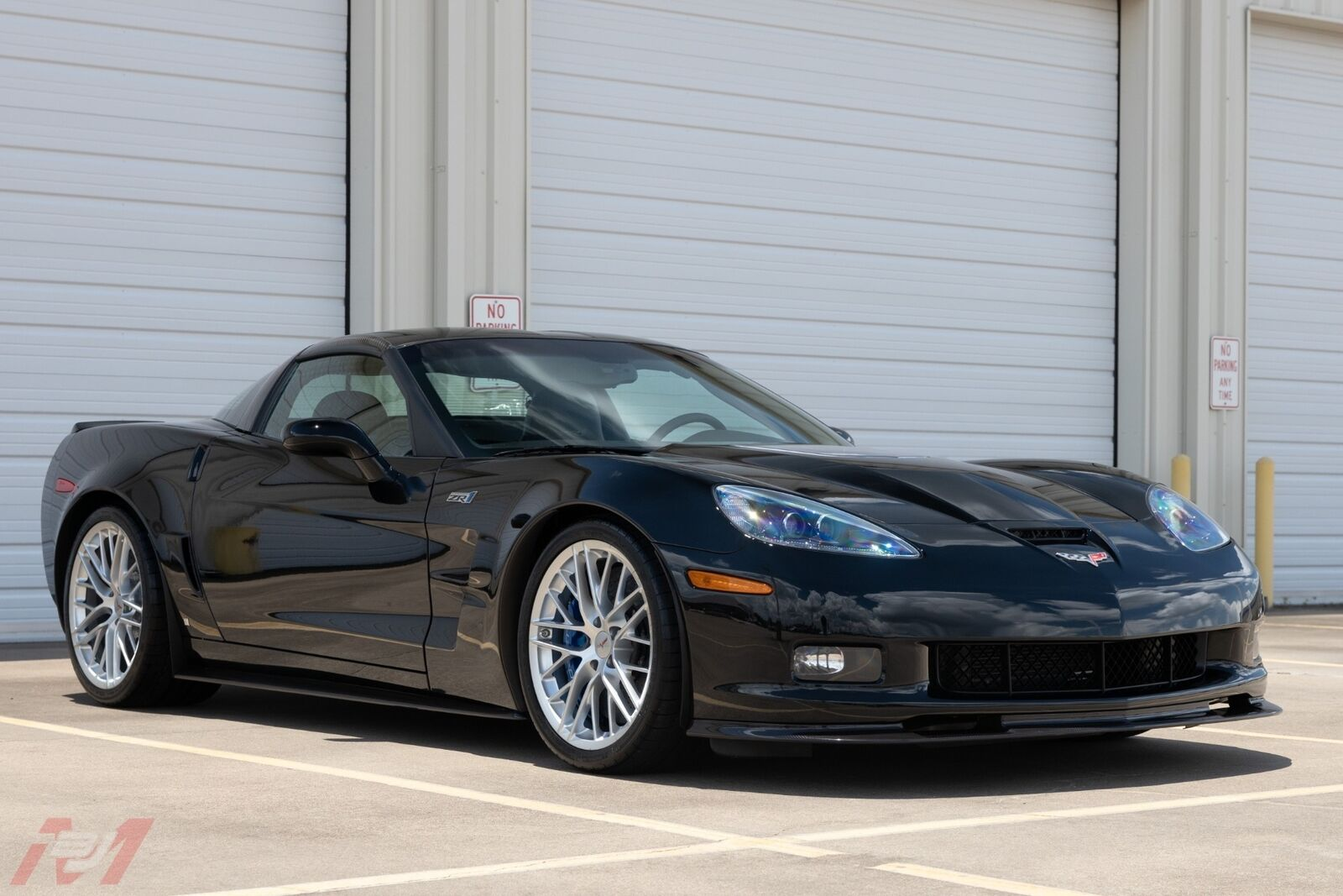 2009 Black Chevrolet Corvette ZR1    C6 Corvette Photo 5