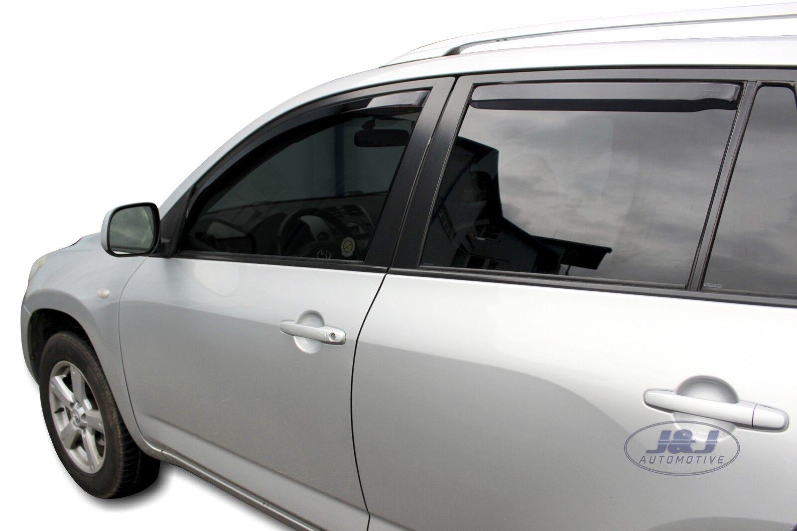 Deflecteurs dair D/éflecteurs de vent Compatible avec RAV4 5 portes 2006-2012 2 pi/éces