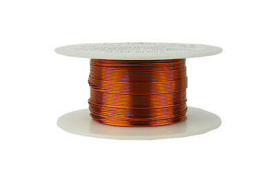 Temco Magnet Wire 24 Awg Gauge Enameled Copper 200c 4oz 197ft Coil Winding