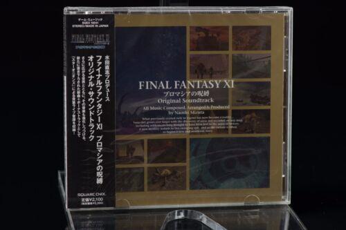 Final Fantasy XI 11 Chains of Promathia Original Soundtrack SQEX-10041 NEW