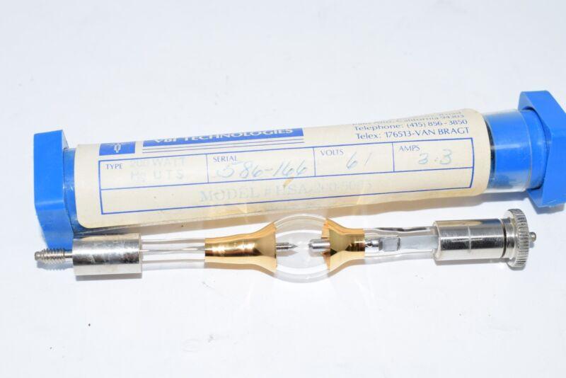 VBI TECHNOLOGIES HSA-200-5005 MERCURY LAMP, Hg UTS, 200W 61V 3.3A, 200 WATTS
