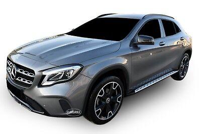 RB047 Mercedes GLA X156 ab 2014 ALUMINIUM TRITTBRETTER SCHWELLER SEITENBRETTER