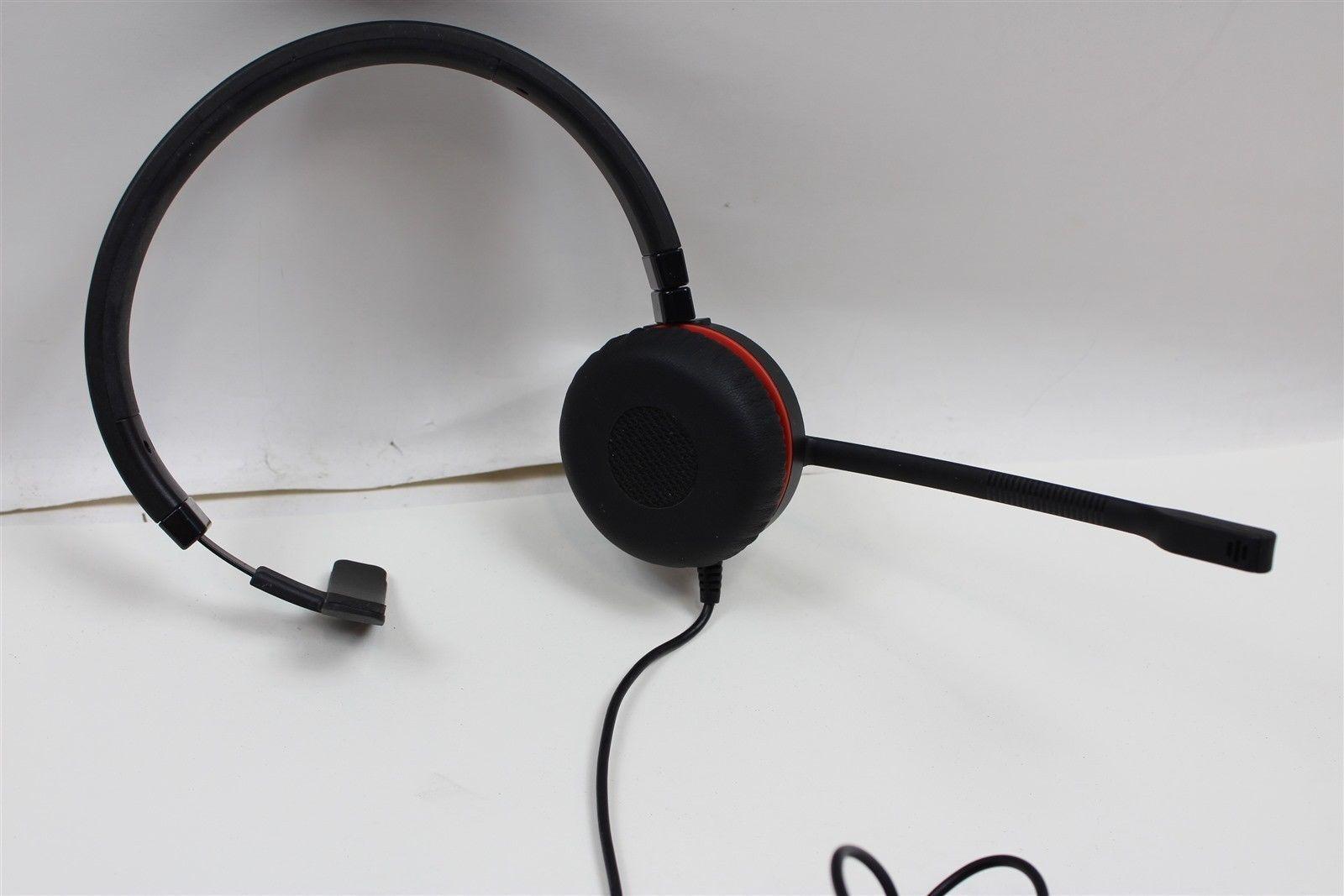 Jabra Evolve 20 HSC016 UC Voice 750 MS USB Headset for sale online