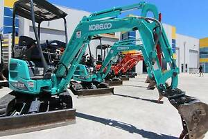 Dig-iTi Hire 1.7T Mini Excavator Kobelco SK17SR For Dry Hire Campbellfield Hume Area Preview