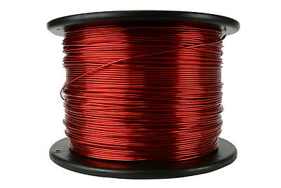 Temco Magnet Wire 16 Awg Gauge Enameled Copper 7.5lb 155c 937ft Coil Winding