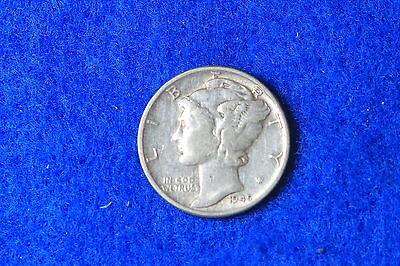 ESTATE FIND 1945 Mercury Dime D2139 - $3.00