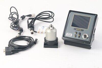 Atlas Copco Acta Mt4 Torque Analyzer W Mt Ts 20 Transducer 2x Rs232-c Cable