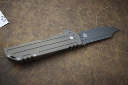 Alphahunter Tactical Design Custom Satin Spartan War Bowie M390 Steel #5 of 10