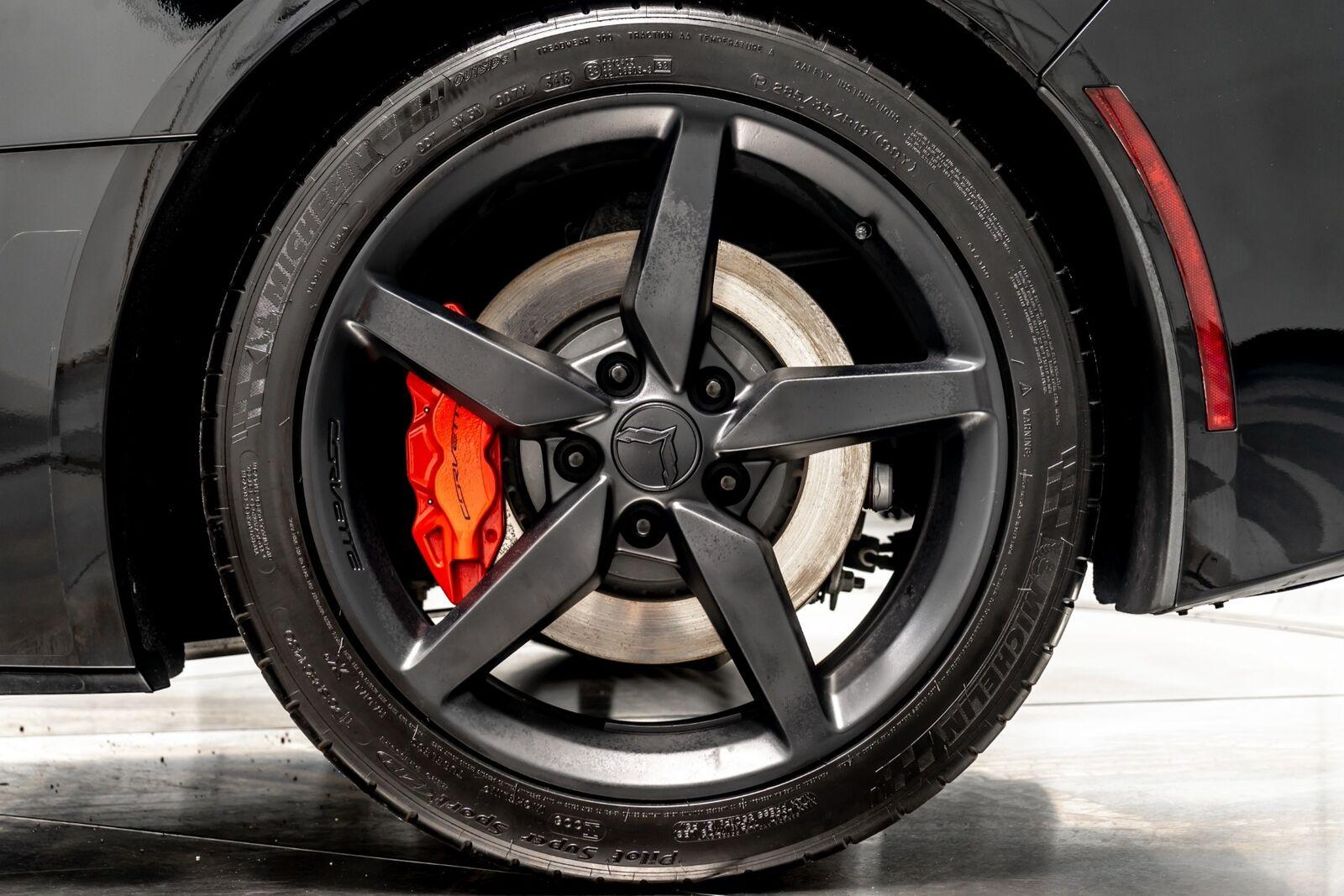 2014 Black Chevrolet Corvette Convertible 2LT   C7 Corvette Photo 10