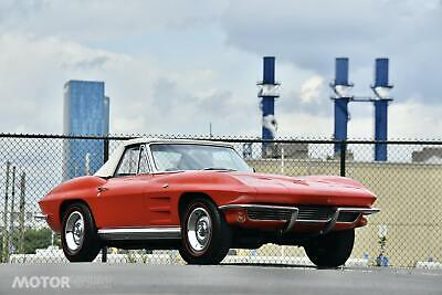 1964 Red Chevrolet Corvette     C2 Corvette Photo 1