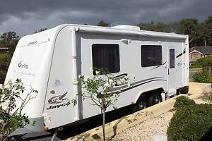 2010 Jayco Sterling Caravan with full annex Ashtonfield Maitland Area Preview