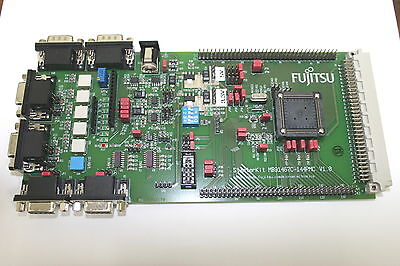 Fujitsu Mb91467c-144pmc Evaluation Board Starter Kit