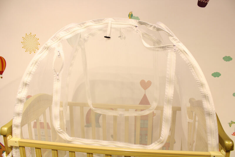 Baby Crib Safety Pop Up Tent Soft Mesh Mosquito Net Canopy Cover