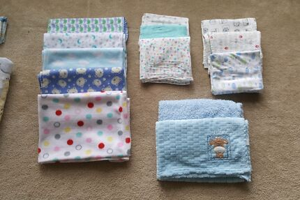 Cot bedding and baby blankets