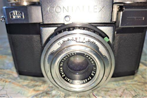 Zeiss CONTAFLEX II SLR with a TLESKOP f1.7 attachment Lens