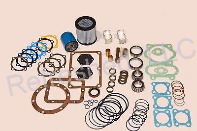 Quincy 325 Most Complete Air Compressor Pump Overhaul Kit 110823-325 Gasket Set