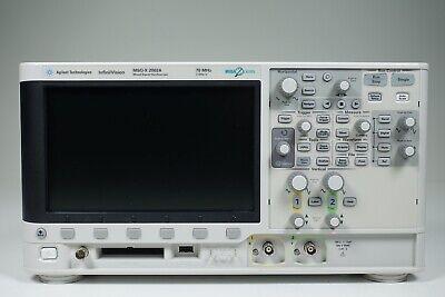 Keysight Used Msox2002a Oscilloscope Mixed Signal 2 8 Channel 70mhz Agilent