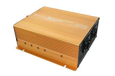 Spannungswandler Wechselrichter 2000 4000 Watt 24V PowerUSB 2.1A reiner Sinus G