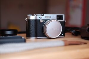 Fujifilm X100T Rangefinder 16.3MP Mirrorless Camera with Extras