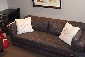 4 seat sofa, brown colour pattern Mosman Mosman Area Preview