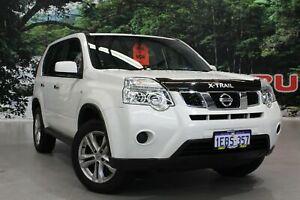 2012 Nissan X-Trail T31 Series 5 ST (4x4) White 6 Speed CVT Auto Sequential Wagon