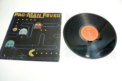 """PAC-MAN FEVER BY BUCKNER & GARCIA RECORD 12"""" LP COLUMBIA RC 37941 DATED 1982"""