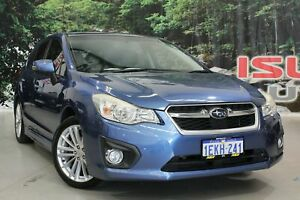 2014 Subaru Impreza MY14 2.0I-S (AWD) Blue Continuous Variable Hatchback