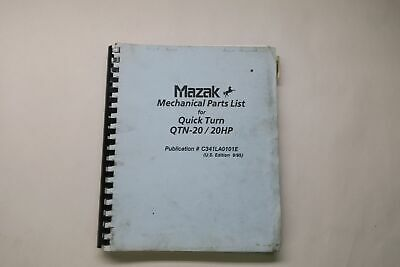 Manuals, Books & Plans - Mazak
