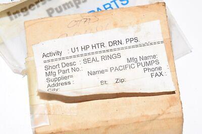 New Ingersoll-dresser Seal Rings Gasket Plane Metal