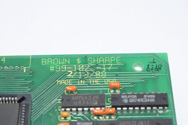 Brown & Sharpe 99-1025-17 PCB Board Module