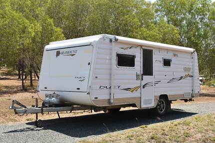 2009 Paramount Duet Family Caravan with BUNKS Gladstone City Preview