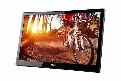 AOC e1659Fwu 16-Inch Ultra Slim 1366x768 Res 200 cd/m2 Brigh