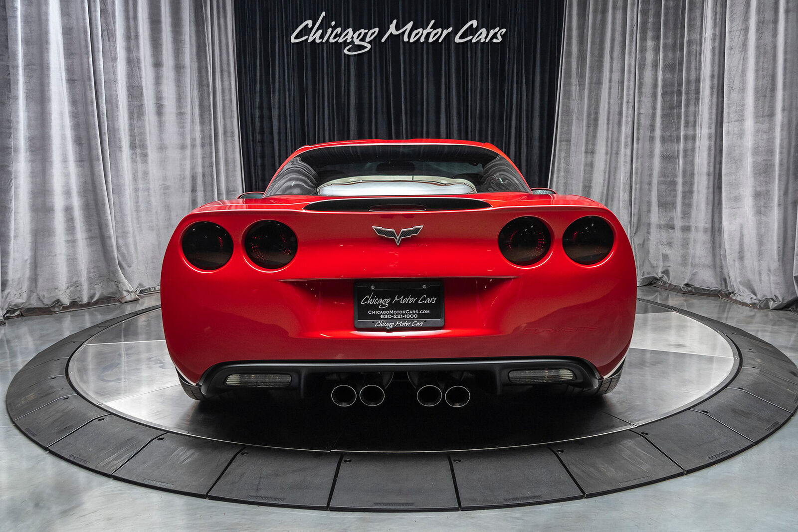 2006 Red Chevrolet Corvette Z06  | C6 Corvette Photo 4