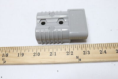 Anderson 6320g1 2-pole Power Connector Gray 20 Wire Size 350 Amp