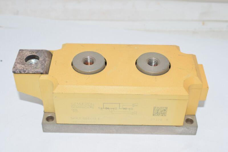 NEW SEMIKRON MODULE SKKT500/12E Thyristor SKKT 500/12 E