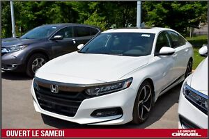 2018 Honda Accord SPORT - TURBO - TOIT OUVRANT - MAGS -