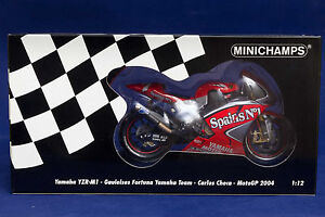 Yamaha YZR-M1 Carlos Checa Moto GP 2004 MINICHAMPS 1:12 - NEW! Narre Warren Casey Area Preview