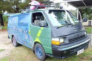 1997 Toyota Hiace van GPL/petrol CIRCUS Brisbane City Brisbane North West Preview