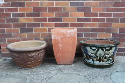Outdoor Decorative Pots