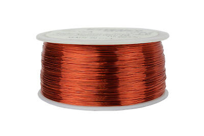 Temco Magnet Wire 28 Awg Gauge Enameled Copper 1lb 155c 1988ft Coil Winding
