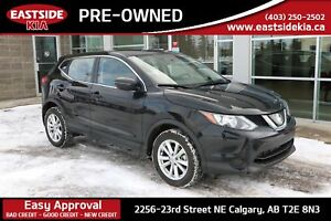 2018 Nissan Qashqai S AWD PRE COLLISION CAMERA HEATED SEATS