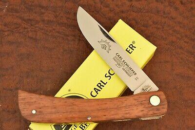 GERMAN EYE BRAND CARL SCHLIEPER JUMBO WOOD SODBUSTER KNIFE SOLINGEN GERMANY 8216