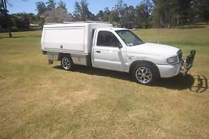 2005 Mazda B2600 aluminium trayback Southport Gold Coast City Preview