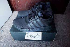 Adidas NMD R1 Triple Black US 5.5 FREE boostVIBE laces NEVER WORN Eastlakes Botany Bay Area Preview