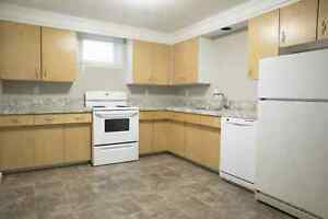 Basement Suite with Utilities Included! Available Today!