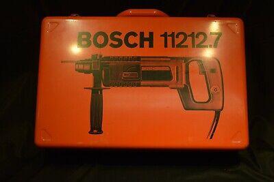 Bosch 11212vsr Bulldog Rotary Hammer Drill D-handle 115v Insulated W Case Pluss