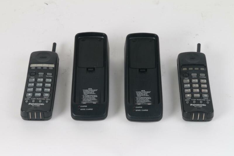 Panasonic KX-T7880 Cordless Phone Pair of 2